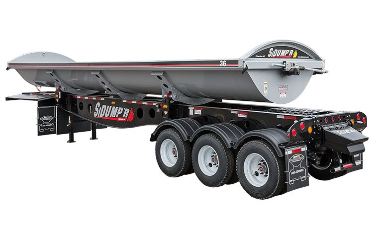 dump trailers at north american trailers