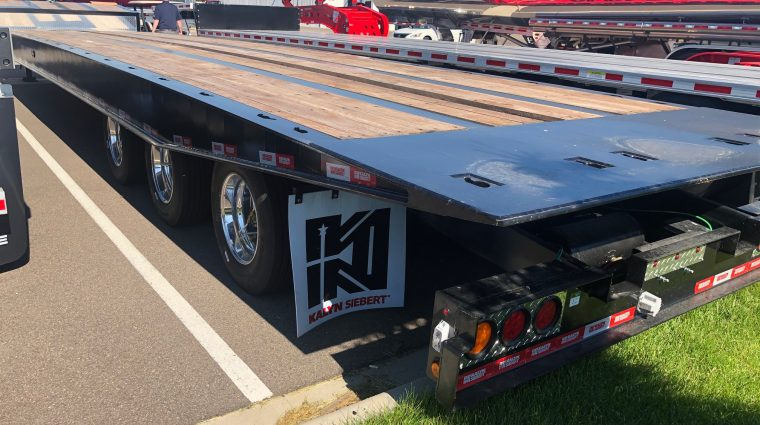 flatbed trailers - north american trailers