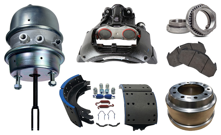 Wheel end products at north american trailer